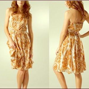 Diane Von Furstenberg  strapless summer dress